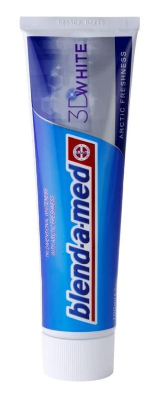 Blend-a-med 3D White Arctic Freshness pasta de dientes con efecto blanqueador
