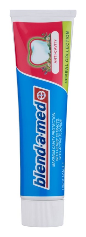 Blend-a-med Anti-Cavity Herbal Collection dentifrice anti-carie