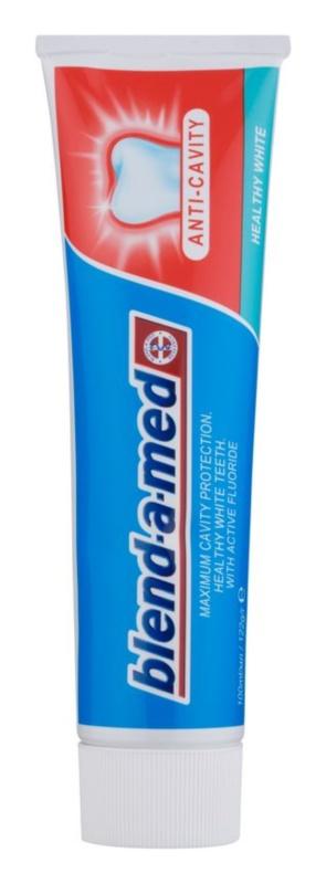 Blend-a-med Anti-Cavity Healthy White pasta de dinti cu efect innalbitor impotriva cariilor dentare