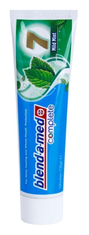 Blend-a-med Complete 7 Mild Fresh zubní pasta pro kompletní ochranu zubů
