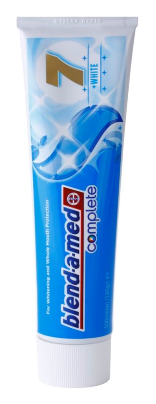 Blend-a-med Complete 7 + White pasta do zębów kompletna ochrona zębów