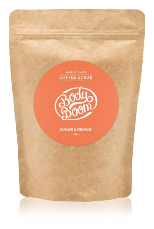 BodyBoom Ginger & Orange Kaffeekörperpeeling