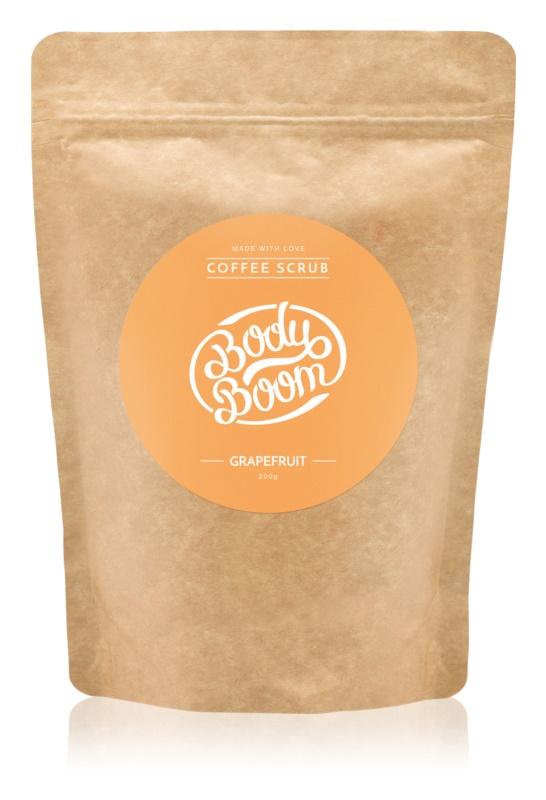 BodyBoom Grapefruit Coffee Body Scrub