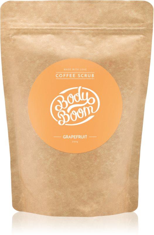 BodyBoom Grapefruit exfoliante corporal con café