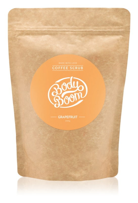 BodyBoom Grapefruit Kaffeekörperpeeling