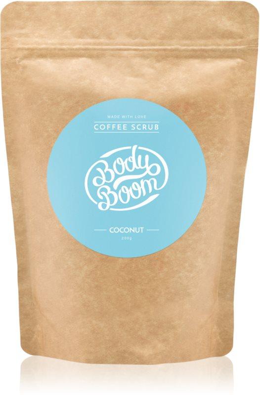 BodyBoom Coconut exfoliant de corp, cu cafea