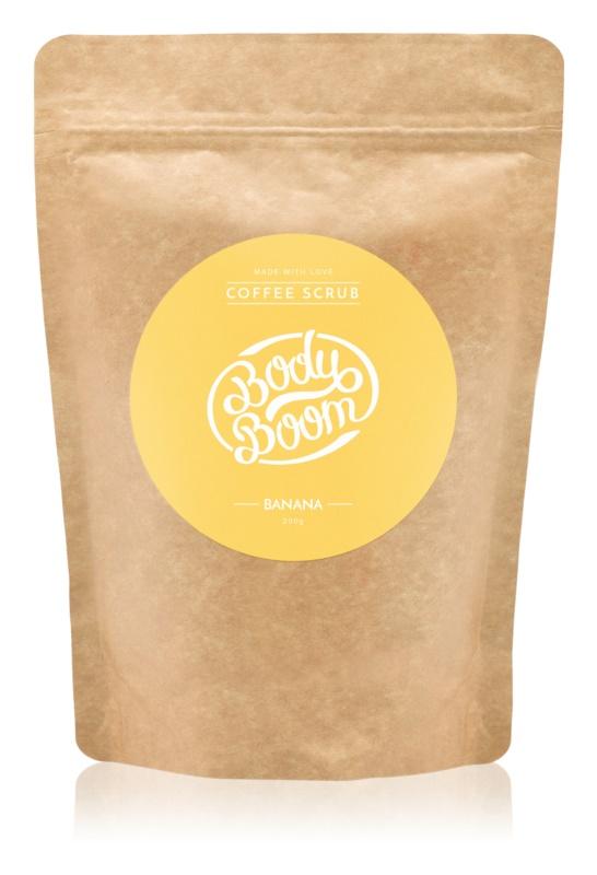 BodyBoom Banana scrub corpo al caffè