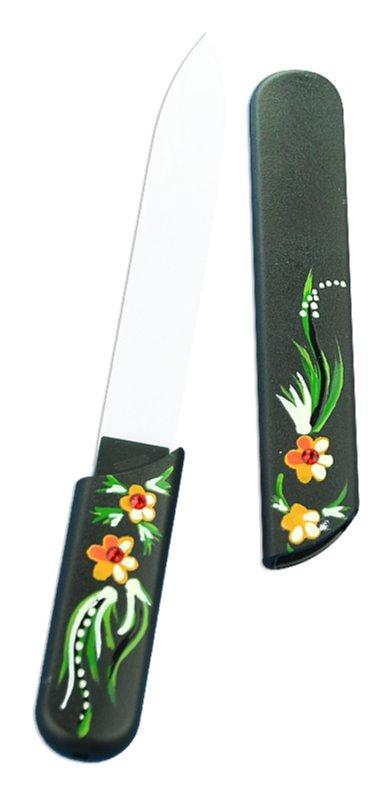 Bohemia Crystal Hard Painted Nail File körömreszelő