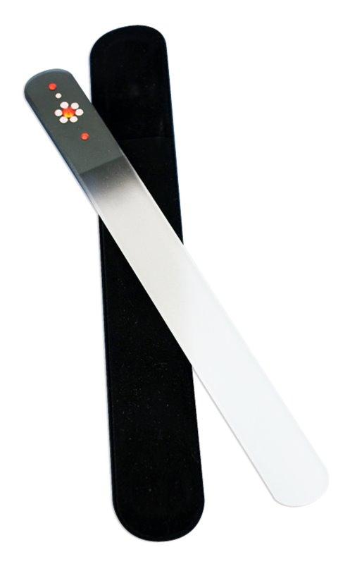 Bohemia Crystal Swarovski Big Nail File with Flower pilník na nehty