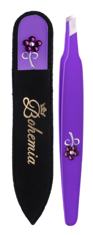 Bohemia Crystal Bohemia Swarovski Nail File and Tweezers kit di cosmetici III.