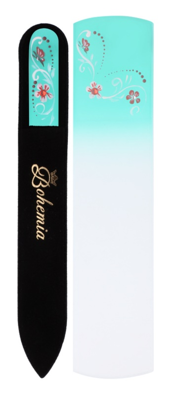Bohemia Crystal Bohemia Swarovski Scraper Nail File and Nail File kit di cosmetici VI.