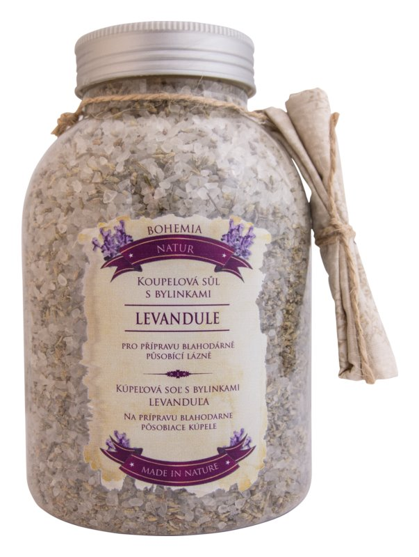 Bohemia Gifts & Cosmetics Bohemia Natur Soothing Herbal Bath Salt with Lavender