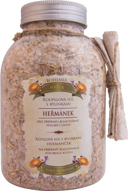 Bohemia Gifts & Cosmetics Bohemia Natur sare de baie cu trei feluri de plante