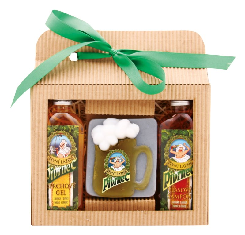 Bohemia Gifts & Cosmetics Beer set cosmetice IV.