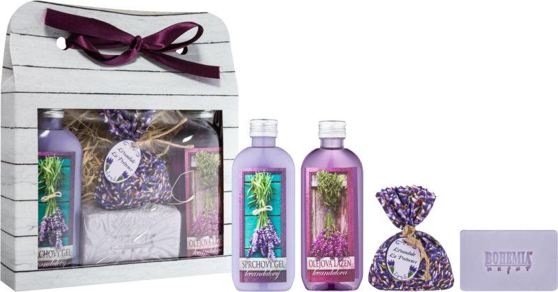 Bohemia Gifts & Cosmetics Lavender kosmetická sada II.