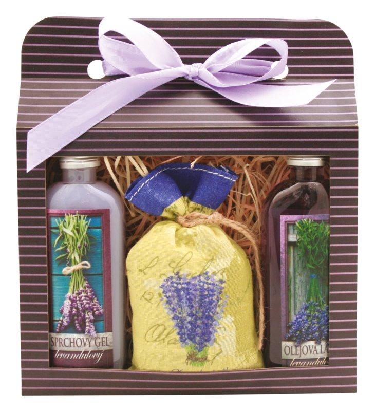 Bohemia Gifts & Cosmetics Lavender ajándékszett I.