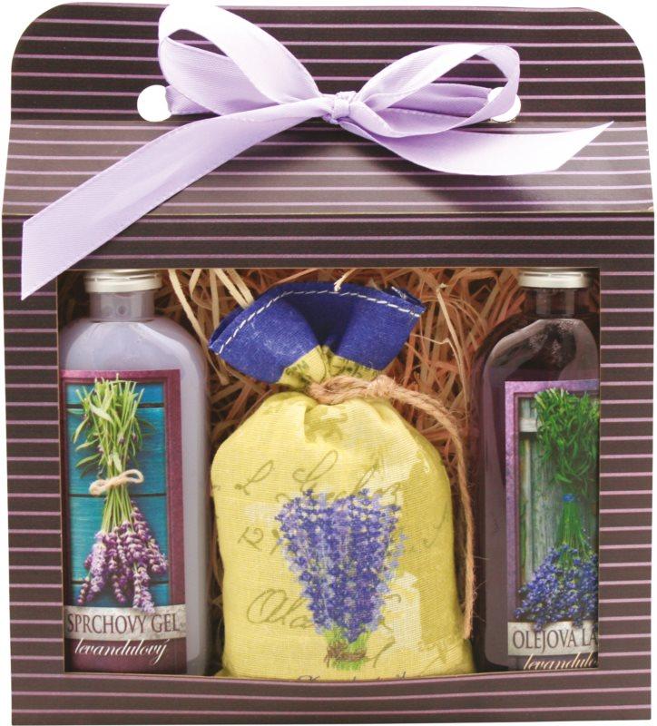 Bohemia Gifts & Cosmetics Lavender kozmetická sada I.