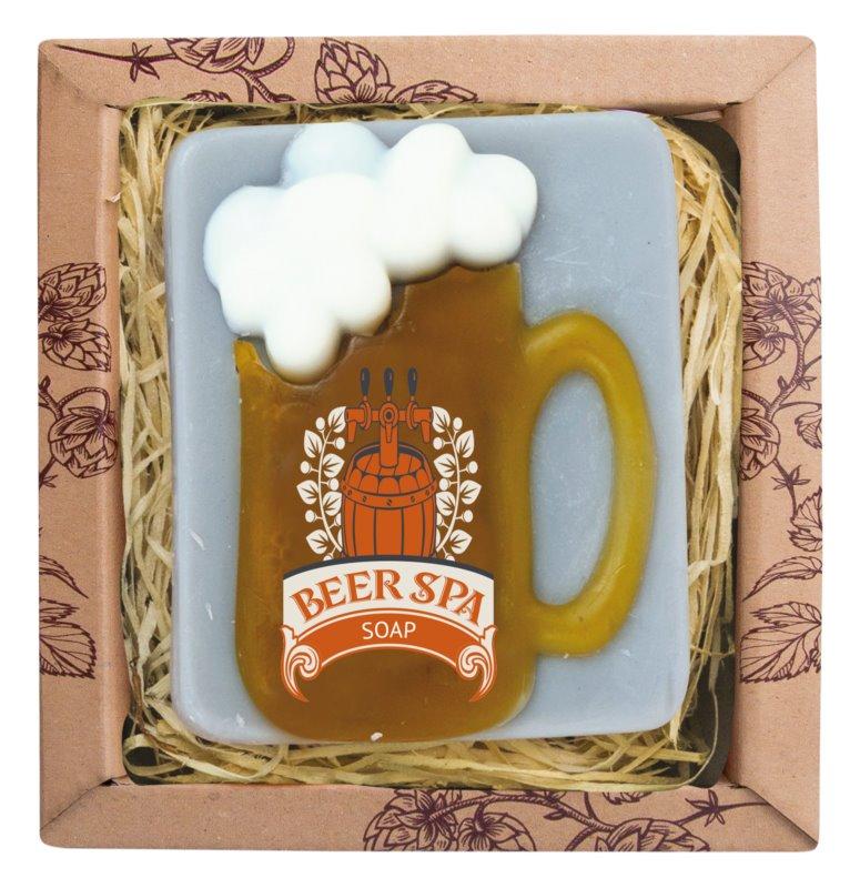 Bohemia Gifts & Cosmetics Beer Spa мило ручної роботи з гліцерином