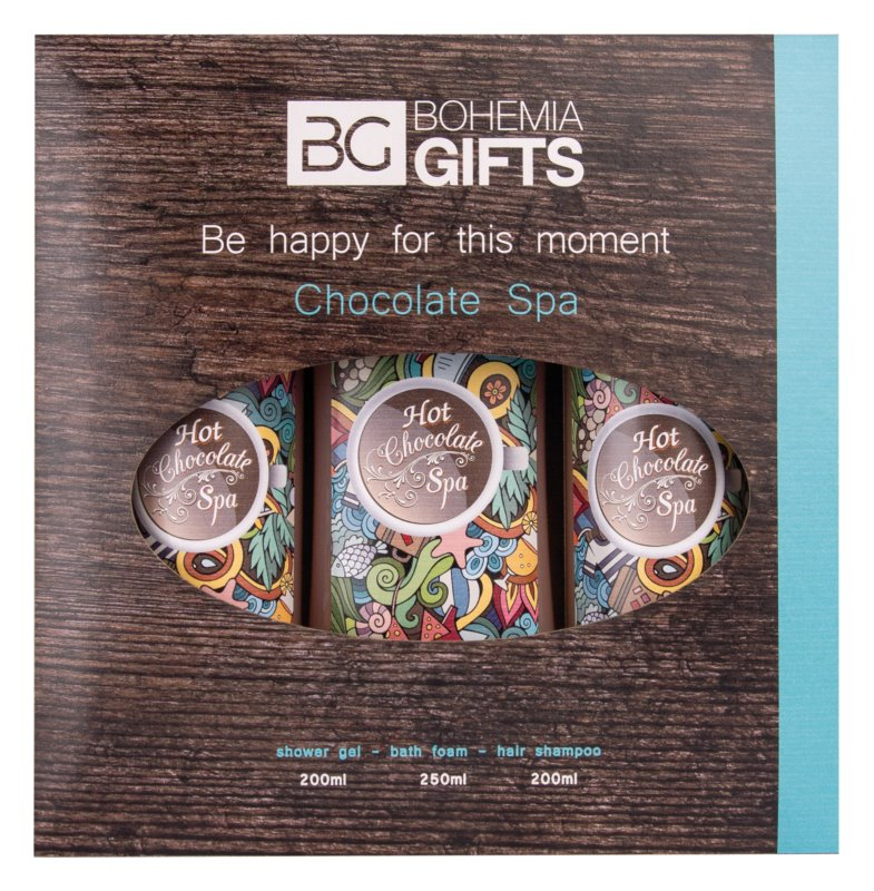 Bohemia Gifts & Cosmetics Hot Chocolate Spa kozmetika szett II.