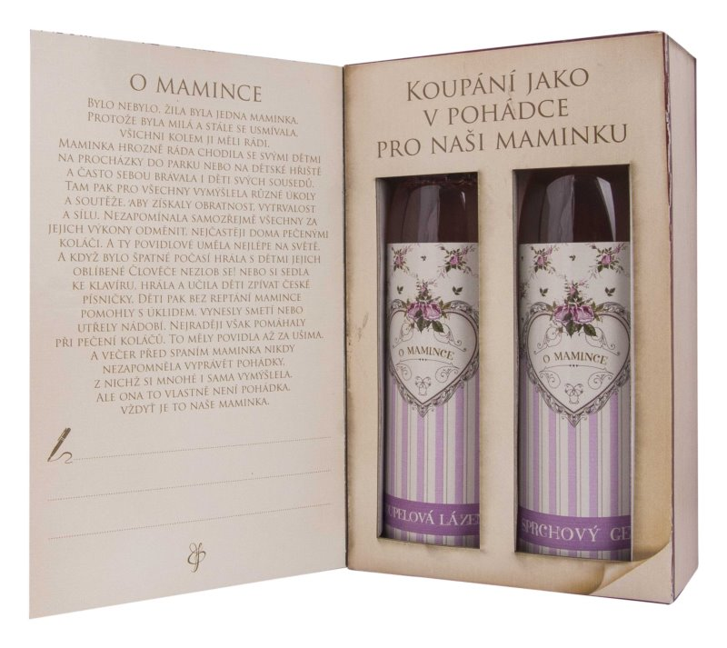 Bohemia Gifts & Cosmetics Body kozmetika szett XX.