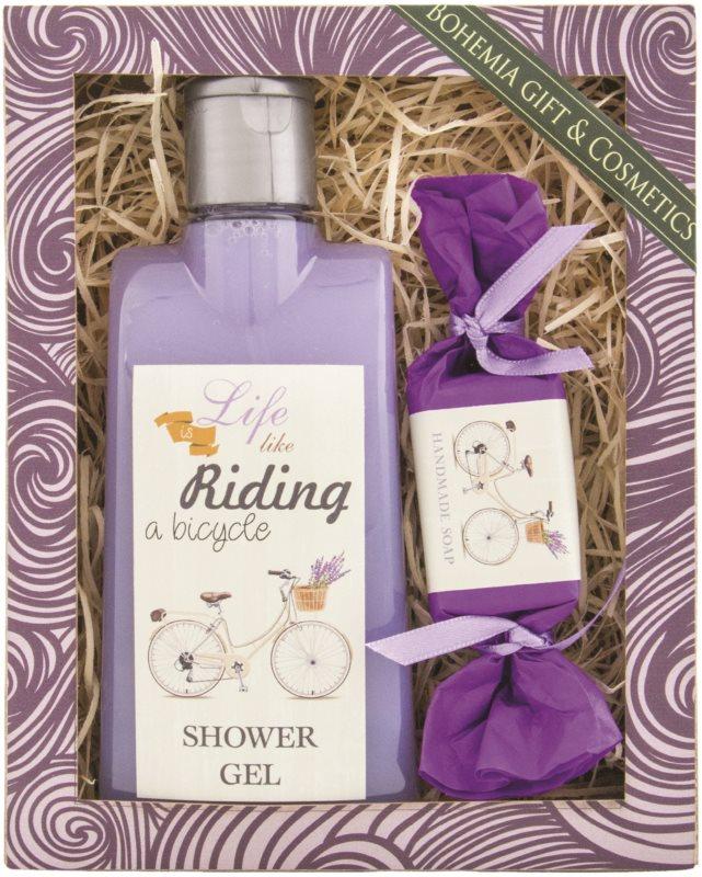 Bohemia Gifts & Cosmetics Riding a Bicycle kosmetická sada I.