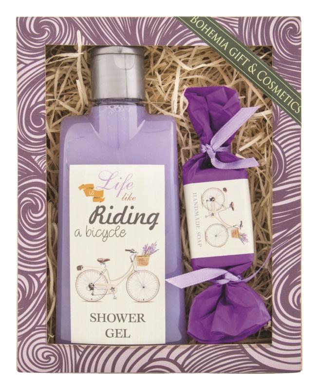 Bohemia Gifts & Cosmetics Riding a Bicycle kozmetični set I.