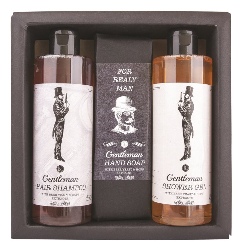 Bohemia Gifts & Cosmetics Gentlemen Spa set cosmetice II.