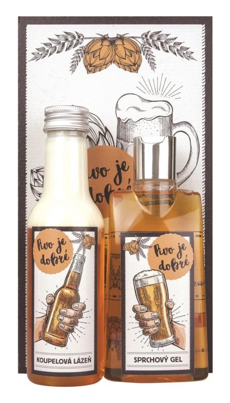 Bohemia Gifts & Cosmetics Beer Spa kosmetická sada II.