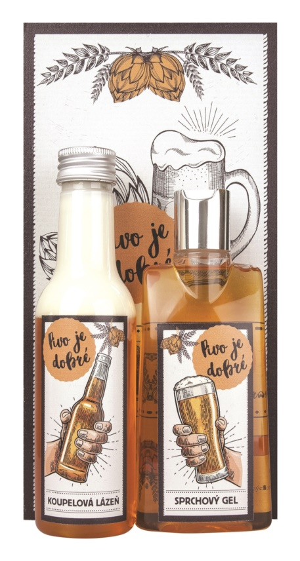 Bohemia Gifts & Cosmetics Beer Spa set cosmetice II.