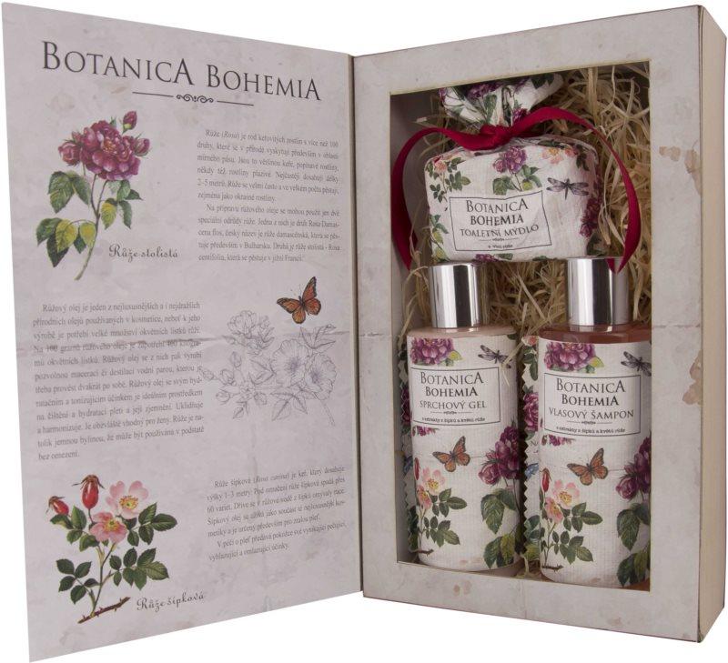 Bohemia Gifts & Cosmetics Botanica dárková sada