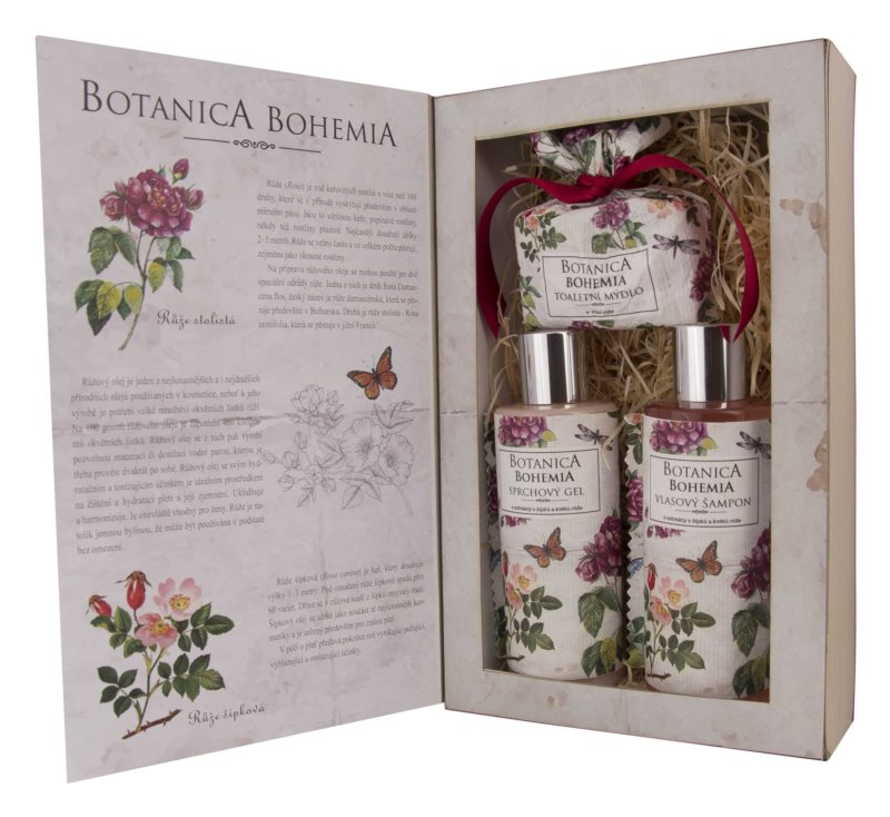Bohemia Gifts & Cosmetics Botanica подарунковий набір