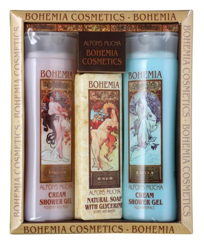 Bohemia Gifts & Cosmetics Alfons Mucha kosmetická sada I.