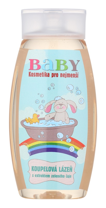 Bohemia Gifts & Cosmetics Baby baño con extracto de té verde