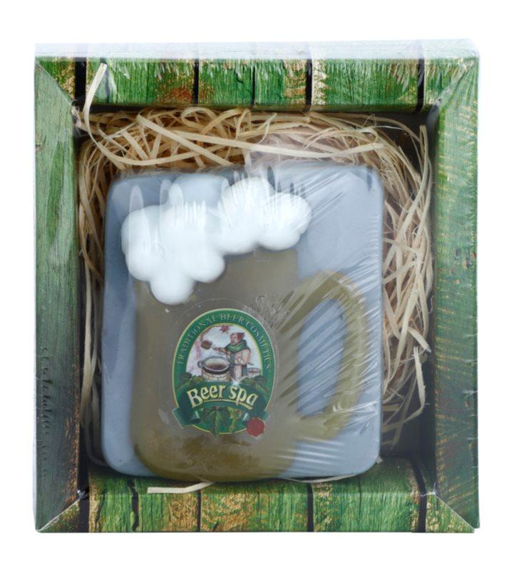 Bohemia Gifts & Cosmetics Beer Spa handgemachte Seife mit Glycerin