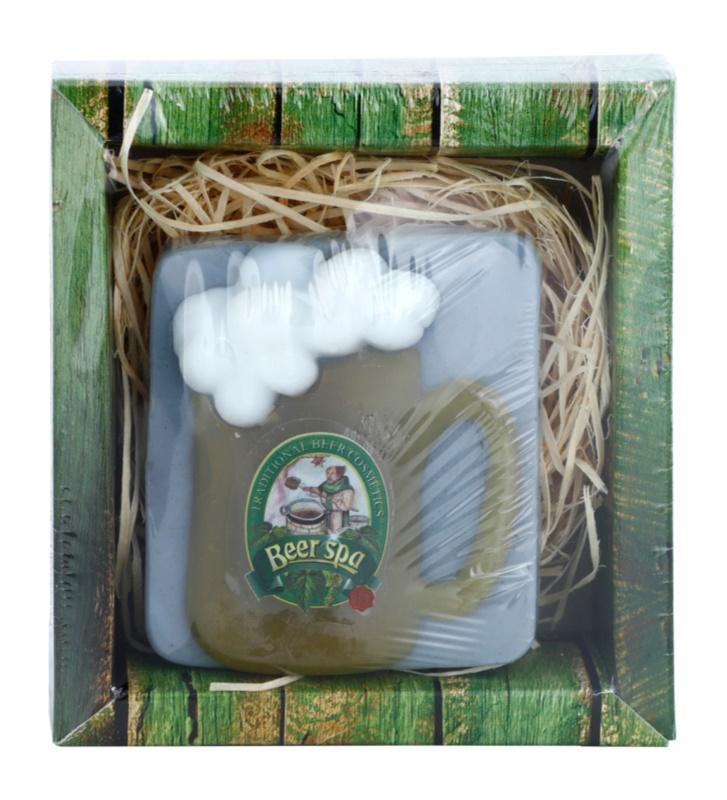 Bohemia Gifts & Cosmetics Beer Spa ručne vyrobené mydlo s glycerínom