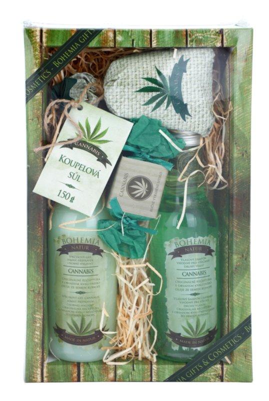 Bohemia Gifts & Cosmetics Cannabis kozmetická sada I.