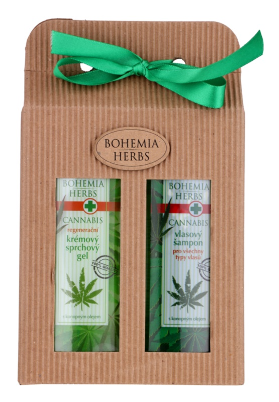 Bohemia Gifts & Cosmetics Cannabis kozmetika szett II.