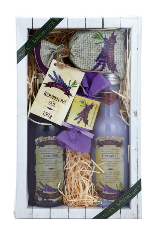 Bohemia Gifts & Cosmetics Lavender coffret III.