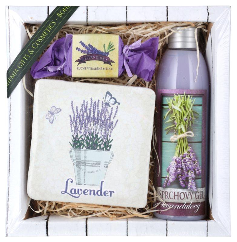 Bohemia Gifts & Cosmetics Lavender Kosmetik-Set  VI.