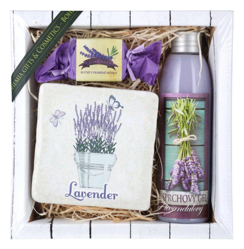 Bohemia Gifts & Cosmetics Lavender set cosmetice VI.