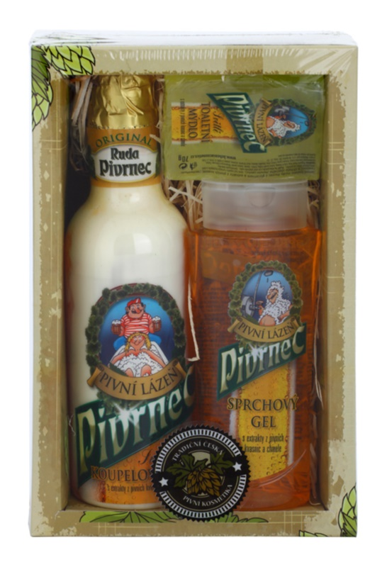 Bohemia Gifts & Cosmetics Beer Kosmetik-Set  III.