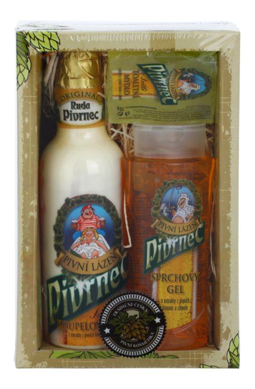 Bohemia Gifts & Cosmetics Beer zestaw kosmetyków III.