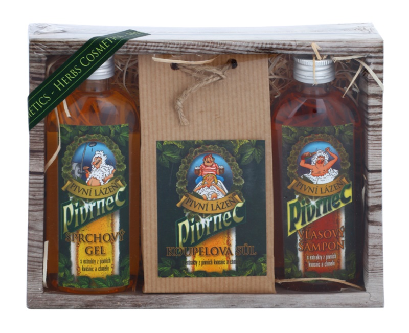 Bohemia Gifts & Cosmetics Beer set cosmetice V.