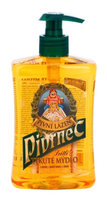 Bohemia Gifts & Cosmetics Pivrnec pivné tekuté mydlo
