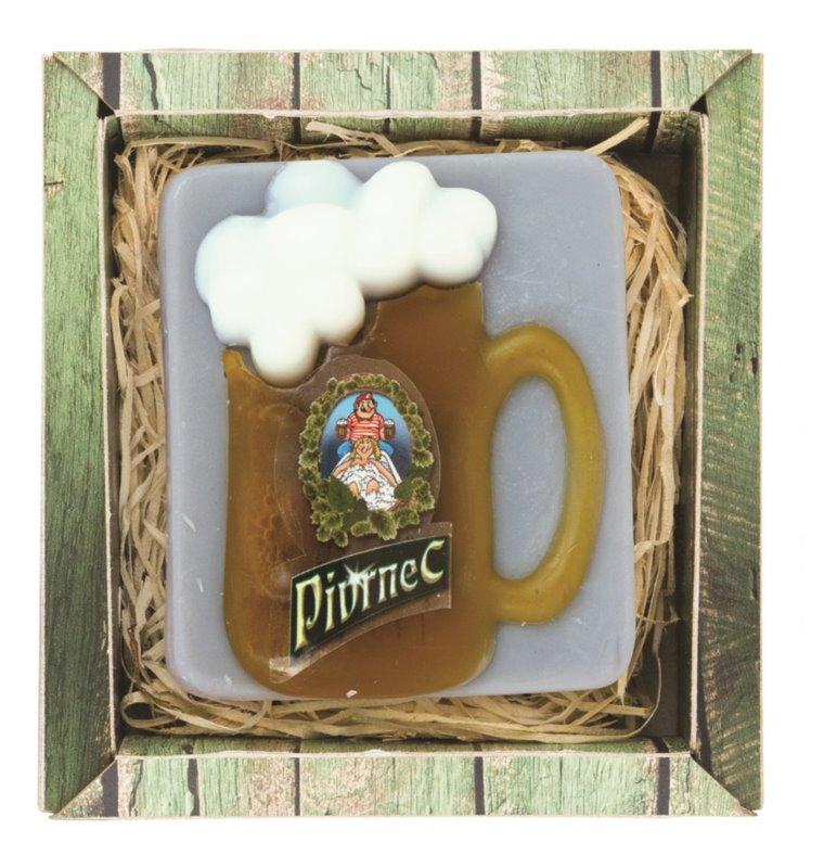Bohemia Gifts & Cosmetics Pivrnec ručne vyrobené mydlo s glycerínom