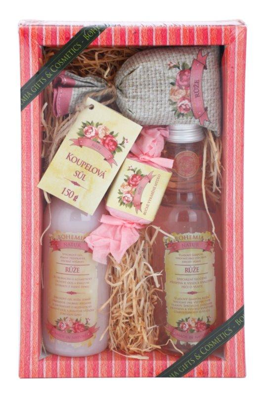 Bohemia Gifts & Cosmetics Rosarium kozmetická sada I.