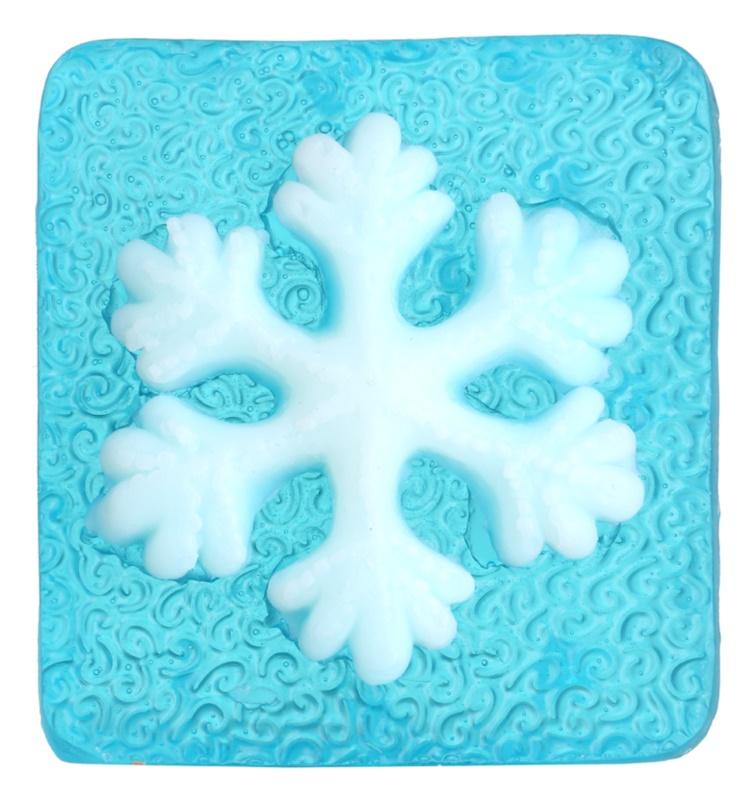 Bohemia Gifts & Cosmetics Snowflake handgemachte Seife mit Glycerin