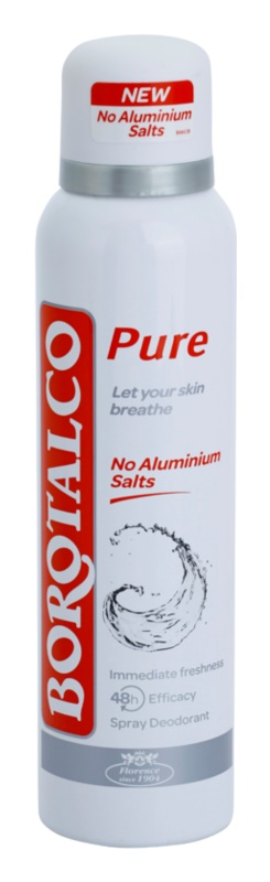 Borotalco Pure dezodorant 48 godz.