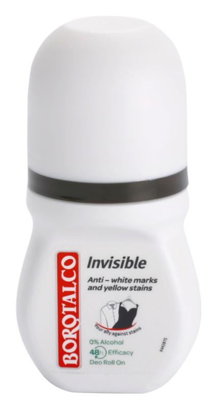 Borotalco Invisible Roll-On Deodorant