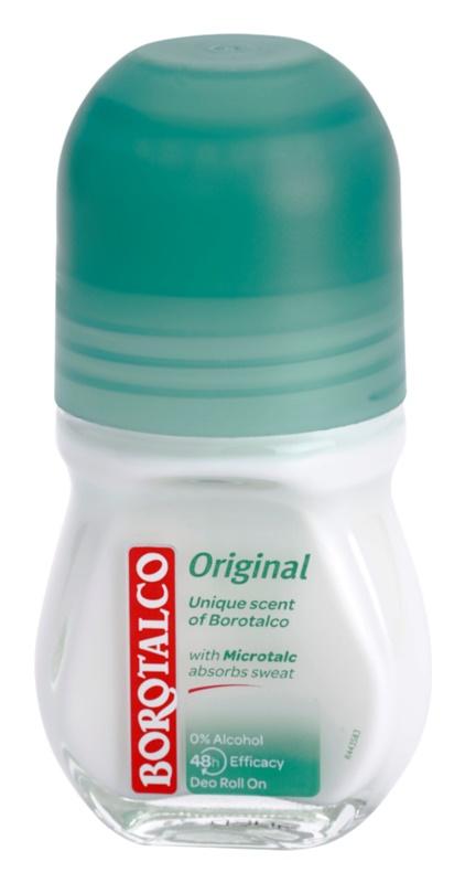 Borotalco Original dezodorant - antyperspirant w kulce